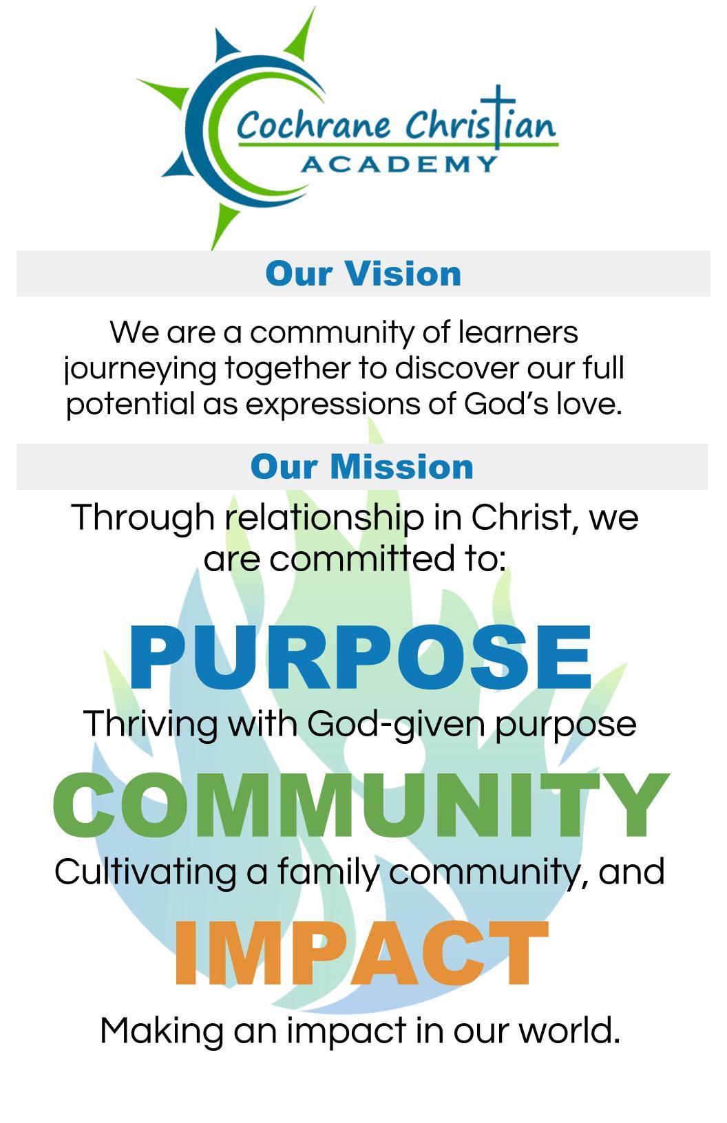 CCA Mission & Vision